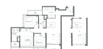 parc-clematis-floor-plan-3-bedroom-type-3br-3-singapore